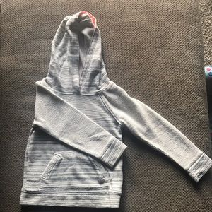 Toddler Girl Heather Gray Hoodie
